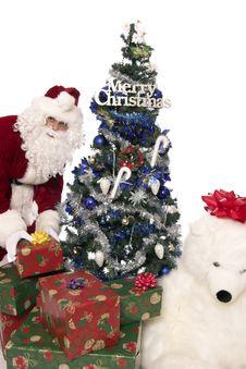 Free Santas Gifts 10 Royalty Free Stock Photo - 1437905