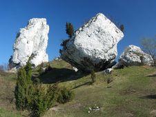 Free White Rocks Royalty Free Stock Photo - 1438545