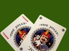 Free Jokers Royalty Free Stock Photos - 1438878