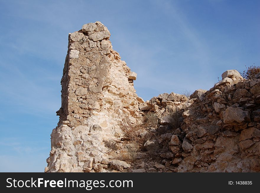 castle ruined walls