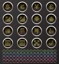 Free Web Buttons Stock Photos - 14306833