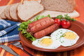 Free Eggs And Sausages Stock Photos - 14307703