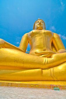 Free Biggest Buddhaimage Royalty Free Stock Image - 14300366