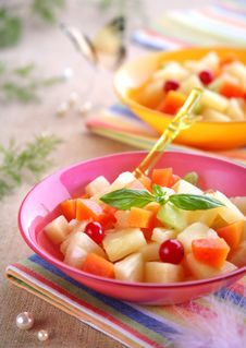 Free Vivid Fruit Salad Stock Photo - 14300830