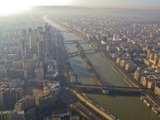 Free Paris Sena Panoramic View Royalty Free Stock Photography - 14301427