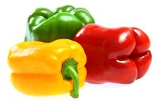 Free Red, Yellow And Green Paprika Stock Photos - 14301473