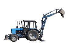 Free Excavator. Royalty Free Stock Image - 14301556
