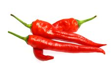 Free Fresh Red Hot Chili Pepper Royalty Free Stock Photos - 14301558