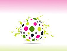Free ABSTRACT COLORFUL BALL Royalty Free Stock Image - 14301776