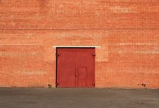 Free Door In A Wall Royalty Free Stock Image - 14301886