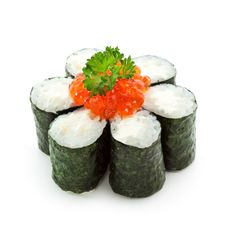 Free Salmon Roe Roll Stock Images - 14302464