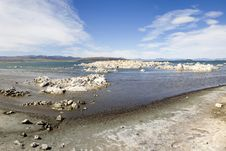 Free Mono Lake Royalty Free Stock Photo - 14303115