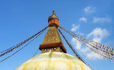Free Bodhnath Stupa In Kathmandu Stock Photos - 14303863