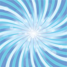 Blue Abstract Twirl Royalty Free Stock Photo
