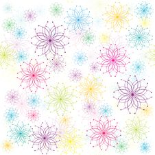 Free Floral Pattern Stock Photography - 14304042