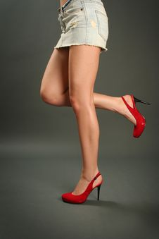 Free High Heel Shoes Royalty Free Stock Photo - 14304325