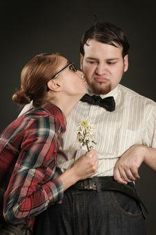 Free Kiss Stock Image - 14304641