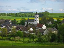 Free Idyllic Village In Germany Royalty Free Stock Photos - 14305398
