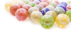 Colorful Glass Balls Stock Photos
