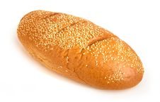 Free Bread With Sesame Stock Photography - 14306062
