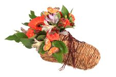 Free Bouquet Of Flowers In Shoe Stock Images - 14306134