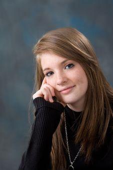 Pretty Young Teen Age Girl Stock Photos