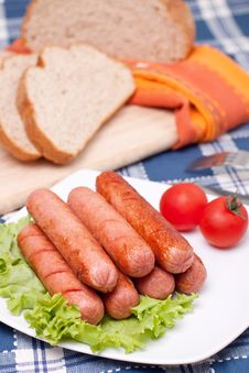 Free Sausages Royalty Free Stock Photo - 14307625