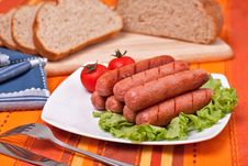 Free Sausages Stock Photo - 14307670