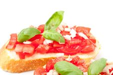 Free Bruschetta Royalty Free Stock Images - 14307859