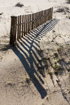 Free Sand Fence Stock Photography - 14308342