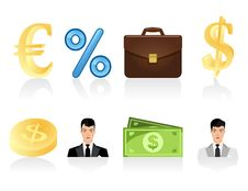 Free Icon Business Royalty Free Stock Photography - 14308407