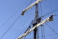 Free Close Up Of Sail Stock Photography - 14308892
