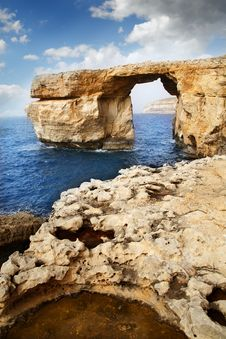 Free Azure Window, Island Of Gozo Royalty Free Stock Image - 14309196