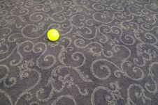 Free Small Ball On Carpet Royalty Free Stock Photography - 14309247