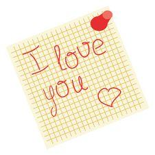 Free Declaration Of Love Stock Photos - 14309583