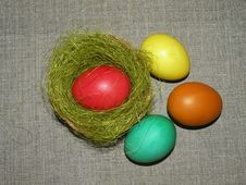 Free Easter Eggs Stock Images - 14309884