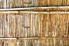 Free Old Bamboo Wall Stock Photos - 14309983