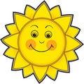 Free Smiling Sun Stock Photos - 14314323