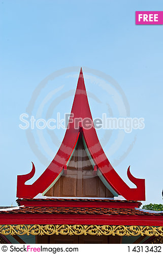 Free Red Roof Stock Photography - 14313432