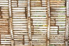 Free Old Bamboo Wall Stock Images - 14310514