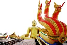Big Golden Buddha (Public Domain)