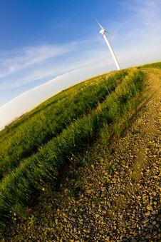 Free Windmill Fisheye Look Stock Photo - 14311380
