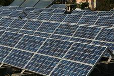 Bio Energy - Solar Cells Royalty Free Stock Photos
