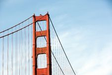 Free Golden Gate Royalty Free Stock Photos - 14311908