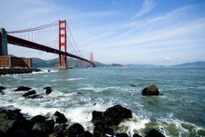Free Golden Gate Royalty Free Stock Photo - 14311975