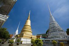 Free Three Pagoda Royalty Free Stock Photo - 14312465