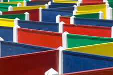 Free Colorful Playground Labyrinth Stock Image - 14312621