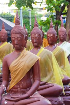 Free Budda Thai Stock Photo - 14313110