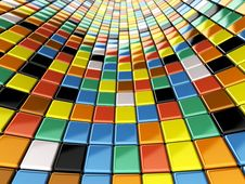 Free Wall Of Mosaic Stock Photography - 14313122