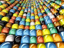 Free Wall Of Mosaic Stock Photos - 14313253